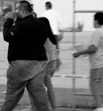 Fat Boy Walking