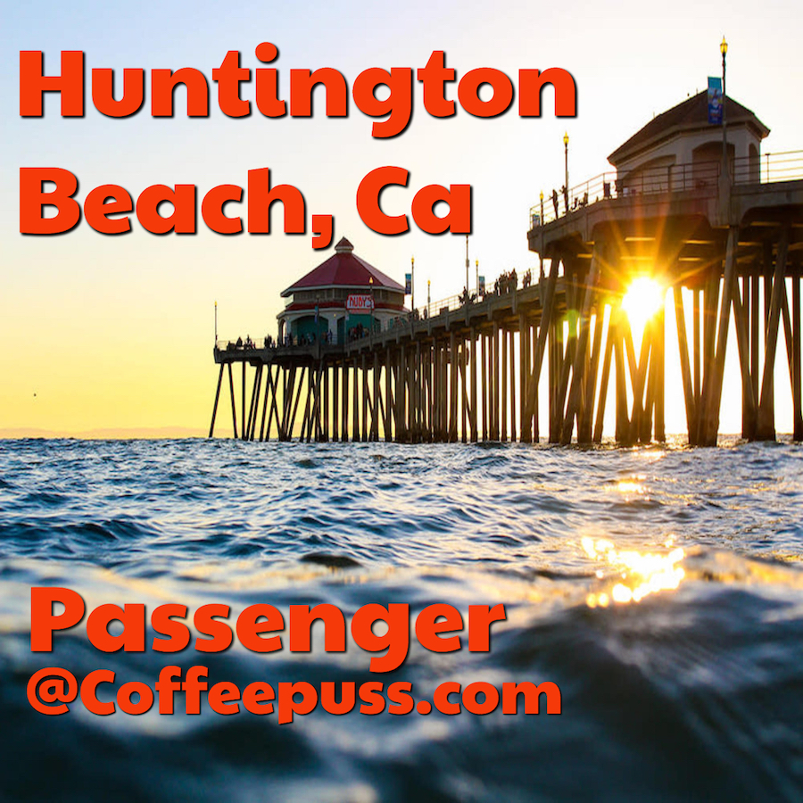 Our Conversation today takes us to Huntington Beach ,Ca. We will talk about the food and bar scene we will go to the 4th of July parade then down PCH Hwy. We talk surfing, camping, biking, parks and Jazz. Surf City has gotten a lot more expensive but, still has a lot of appeal. Come join us roll down your window and become our Passenger.