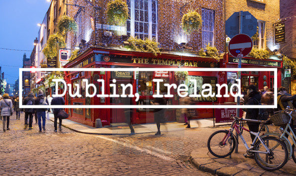 We are coming from London for a two day stop in Dublin, Ireland. Join us as we visit the Temple Bar Area along with a stop at Trinity College, The Guiness Factory, Pubs and the two best restaurants in Dublin.